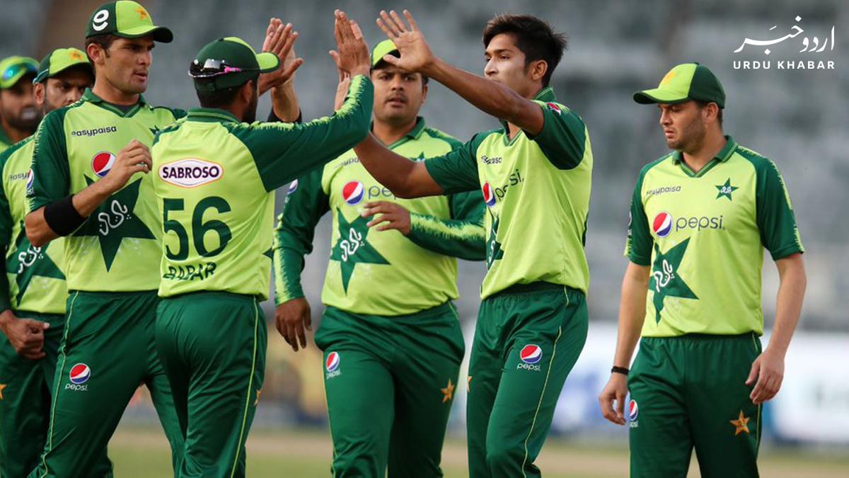پاکستان نے انگلینڈ کے لئے اپنی ٹیم کا اعلان کر دیا