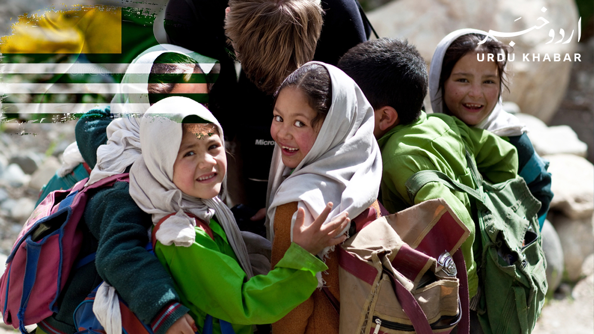 پاکستان کی مار بھی قبول ہے، کشمیری بچوں کا بھارتی صحافی کو جواب