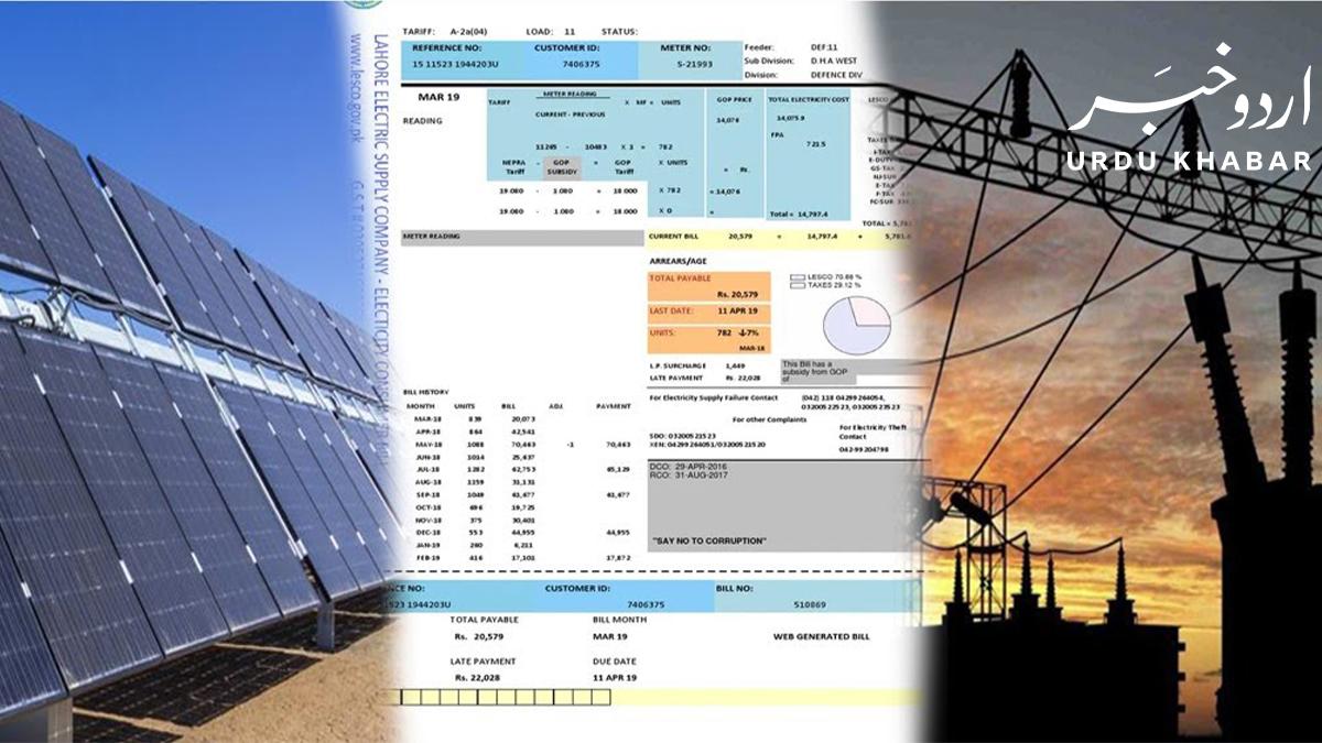 سردیوں میں بجلی کا بل فی یونٹ 12.66 مقرر