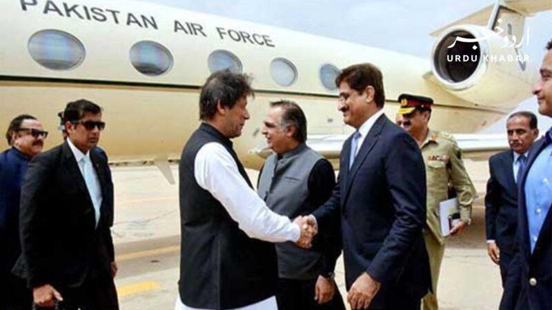 وزیر اعلی سندھ مراد علی شاہ وزیر اعظم عمران خان کا کراچی سرکلر ریلوے پراجیکٹ کے افتتاح کے موقع پر استقبال کریں گے