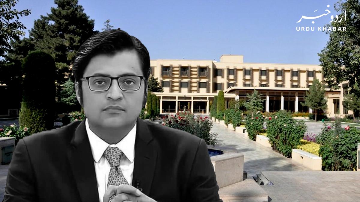انڈیا کا کابل کے دو سٹوری ہوٹل کی پانچویں منزل پہ آئی ایس آئی کے دفتر ہونے کا دعوی