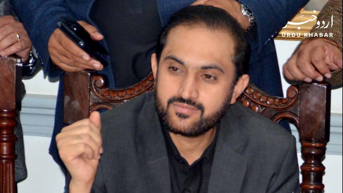 اسپیکر بلوچستان اسمبلی عبد القدوس بزنجو نے استعفی دے دیا